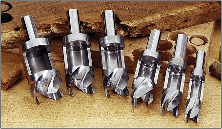 wood plug cutter
